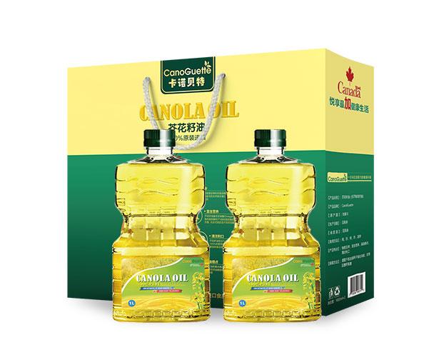 CanoGuette 芥花籽油1L桶装 CanoGuette Canola Oil 1L